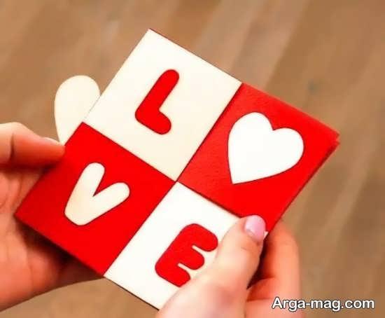 خلاقیتی زیبا برای روز عشق