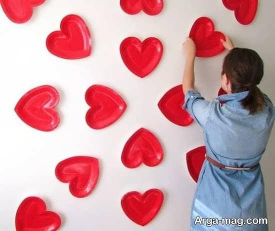 خلاقیت ساده برای روز عشق