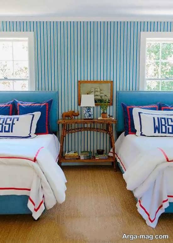 تزیین اتاق خواب پسرانه مدرن