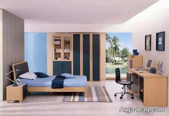 دیزاین جذاب اتاق خواب پسرانه