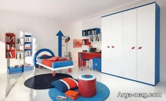 دیزاین جدید اتاق خواب پسرانه