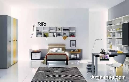 تزیین اتاق خواب پسرانه +عکس