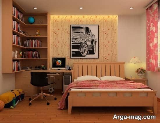 انواع دکوراسیون اتاق خواب پسرانه