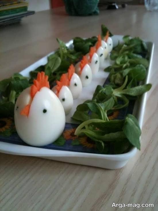 دکوراسیون تخم مرغ آپز