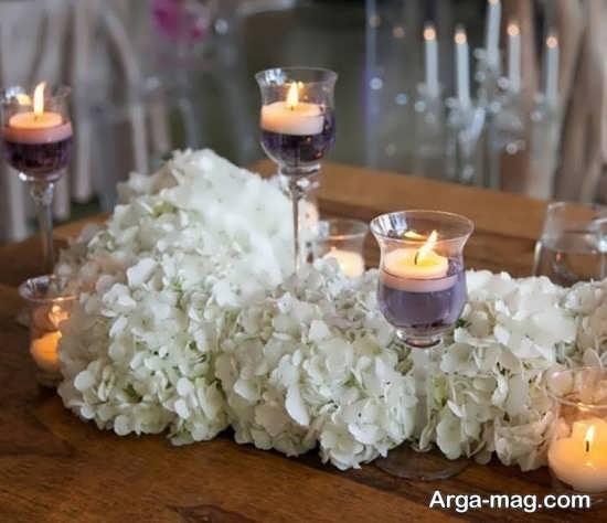 گل آرایی میز تولد+عکس