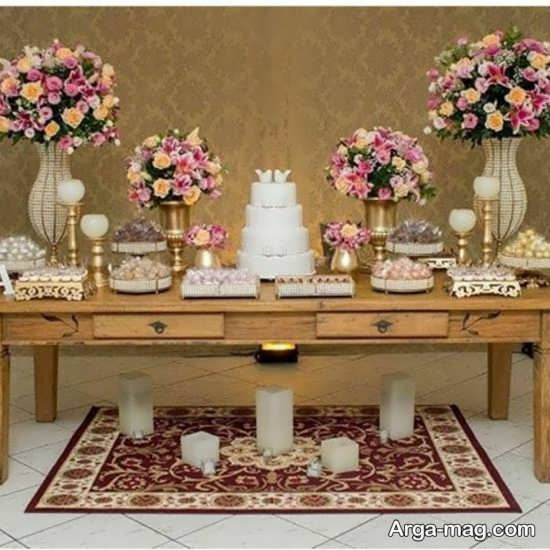 گل آرایی میز جشن تولد