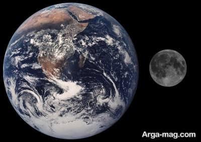 مسافت بین زمین تا ماه