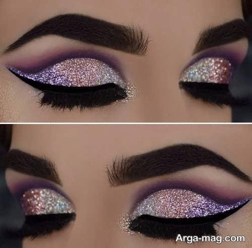 آرایش چشم زیبا و جذاب