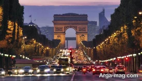 مکان های دیدنی کشور فرانسه