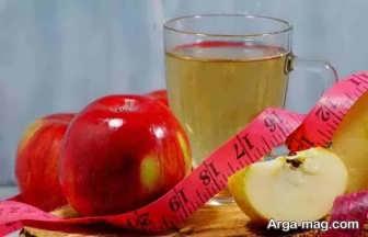 لاغری سریع شکم با مصرف سرکه سیب
