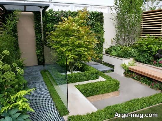 طراحی اصولی باغچه