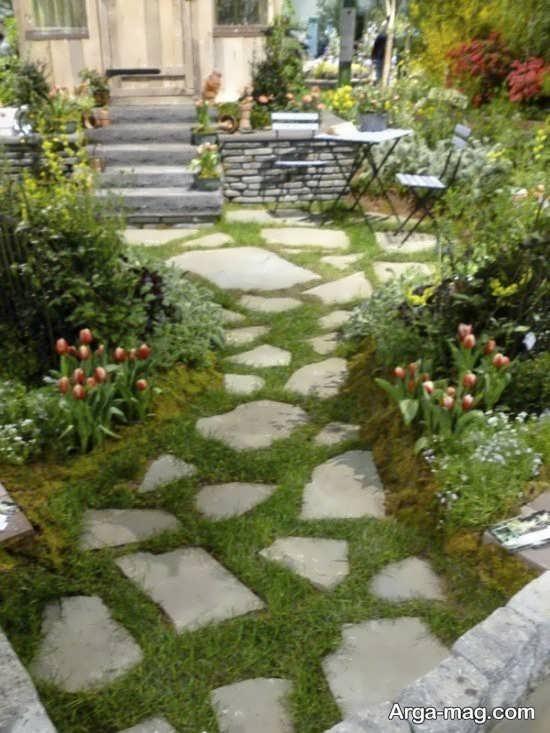 اصولی برای طراحی باغچه