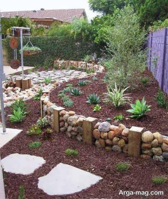 اصول مهم طراحی باغچه