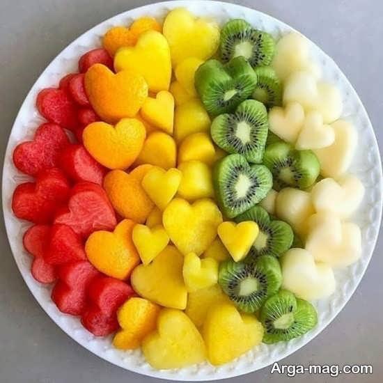 انواع تزیینات سالاد میوه