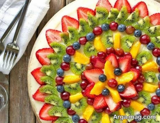 ایده تزیین سالاد میوه