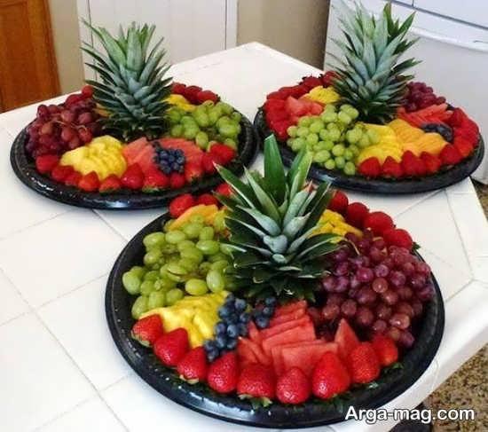 تزیینات جذاب سالاد میوه