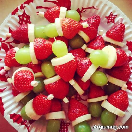 تزیینات سالاد میوه