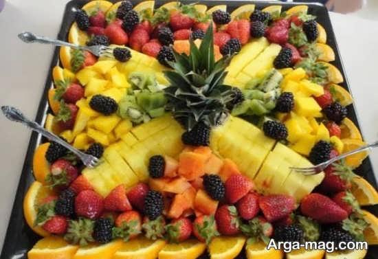تصاویر تزیینات سالاد میوه