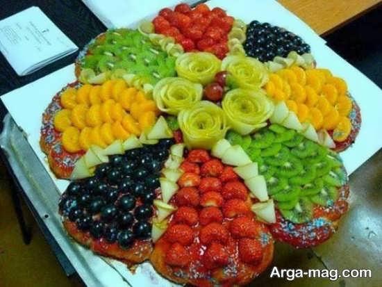 ایده تزیینات سالاد میوه