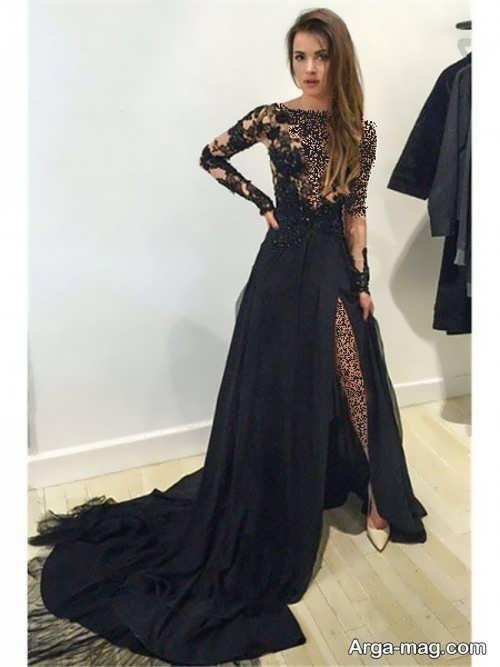 مدل لباس مجلسی مشکی