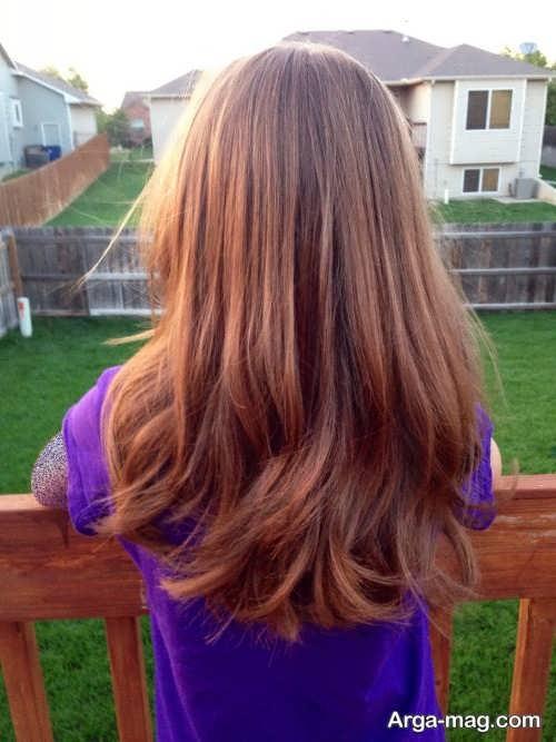 استایل موی دخترانه