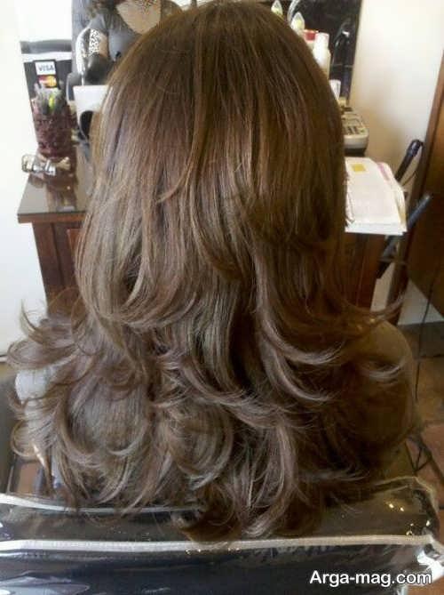 استایل موی بلند دخترانه