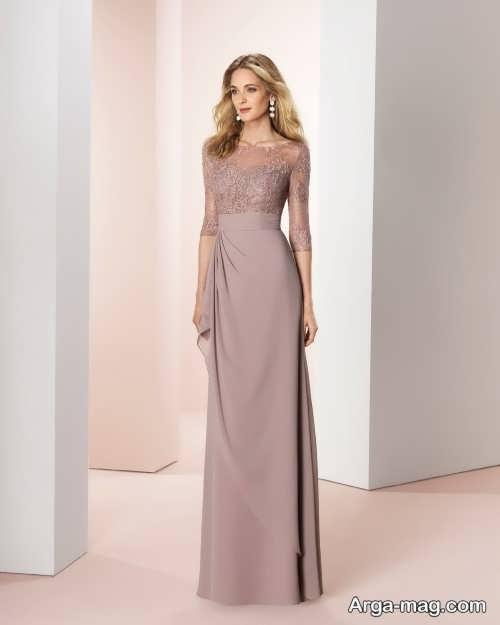 مدل لباس مجلسی گپیور 2019 آستین دار