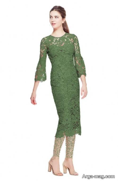مدل لباس مجلسی زنانه گیپور