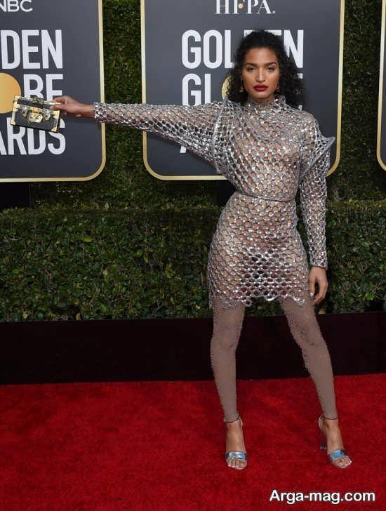 مدل لباس کوتاه و کار شده ستاره های هالیوود