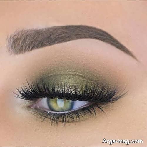 مدل های زیبا برای آرایش چشم سبز