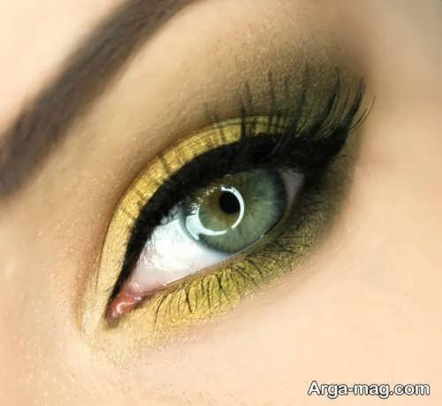 مدل آرایش برای چشم سبز