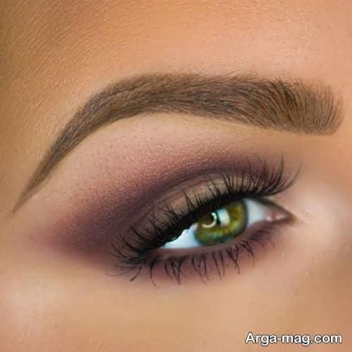 مدل سایه چشم سبز