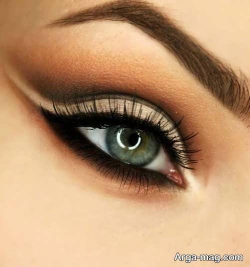 آرایش زیبا برای چشم سبز