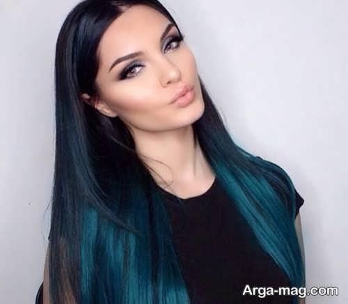 رنگ مو مشکی