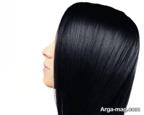 فرمول ترکیبی رنگ موی پرکلاغی