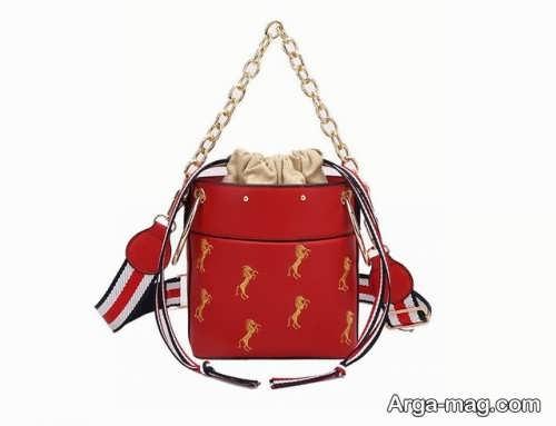 مدل کیف قرمز