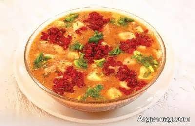 دستور تهیه سوپ زرشک