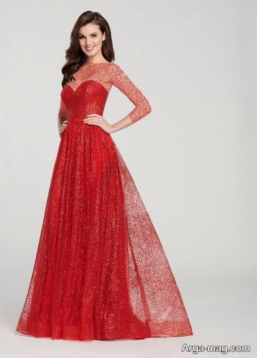 مدل لباس مجلسی بلند 2019
