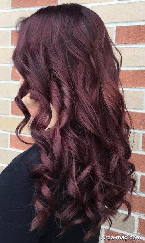 فرمول های ترکیب رنگ موی ماهگونی و تصاویر انواع این رنگ موی