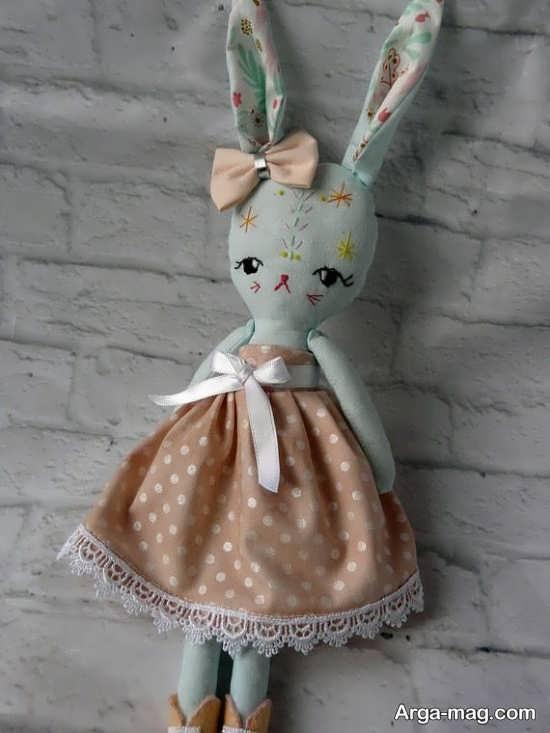 ساخت خرگوش با پارچه