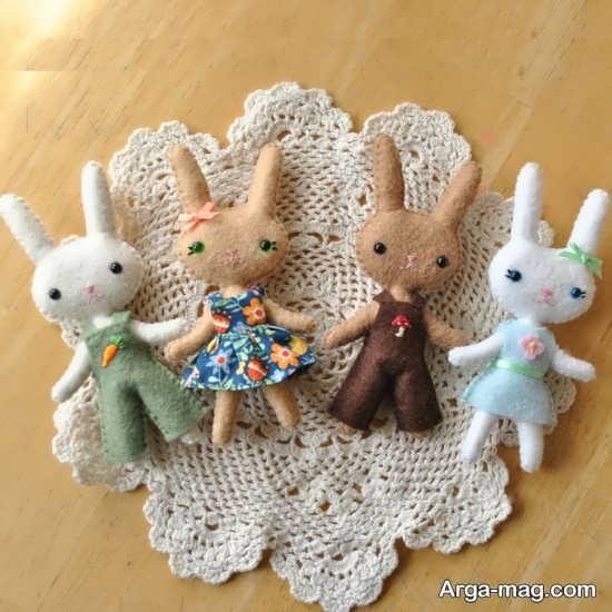 مدل های مختلف عروسک خرگوش