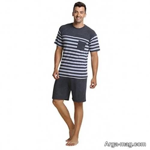 مدل تیشرت و شلوارک مردانه
