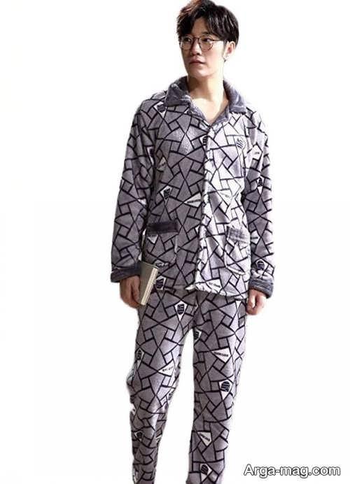 مدل لباس طرح دار و راحتی مردانه