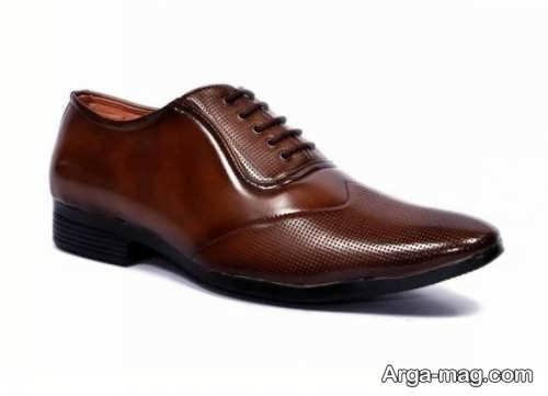کفش مردانه قهوه ای