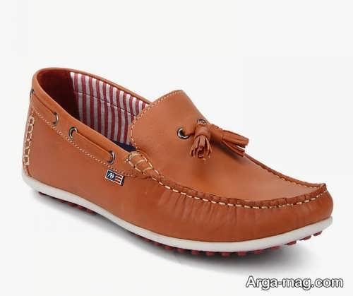 مدل کفش مردانه قهوه ای روشن 98