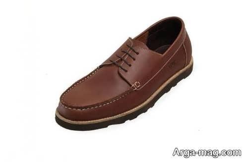 مدل کفش قهوه ای مردانه