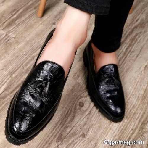 مدل کفش ورنی مردانه