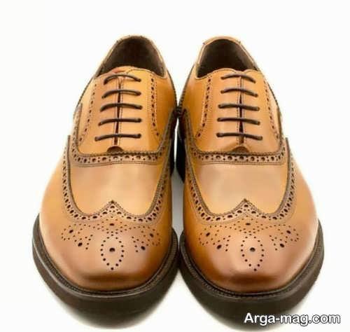 مدل کفش مردانه قهوه ای
