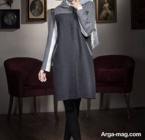 مدل مانتو طوسی دخترانه