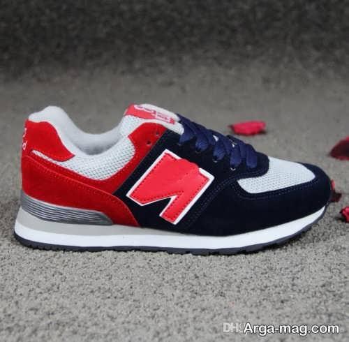 مدل کفش سورمه ای و قرمز زنانه